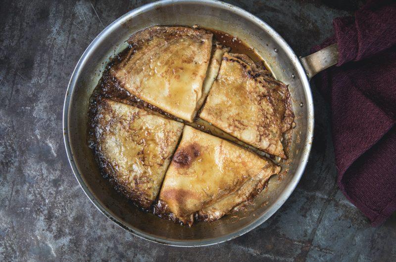 Pannenkoeken met honing & citroen