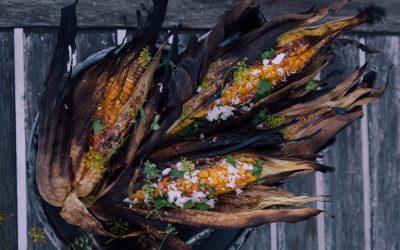 Maïs van het vuur