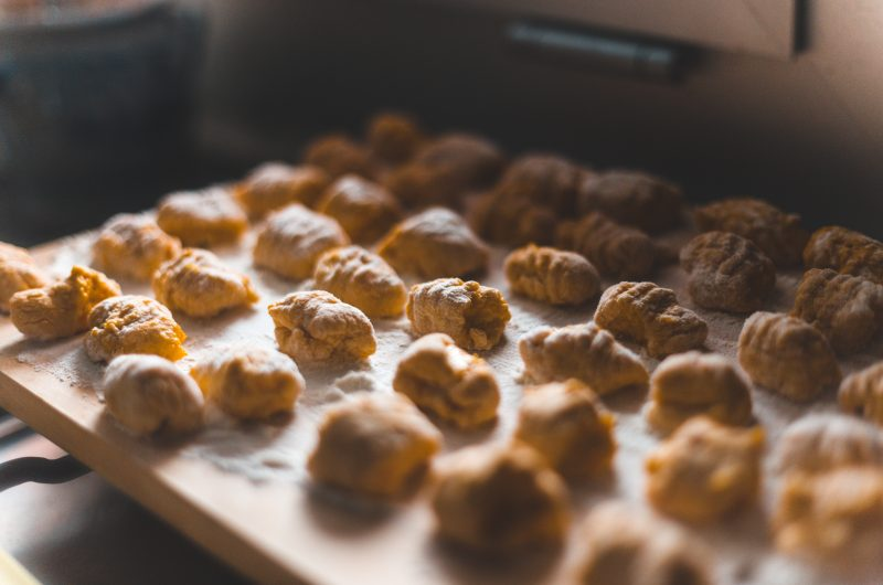 Gnocchi van zoete aardappel