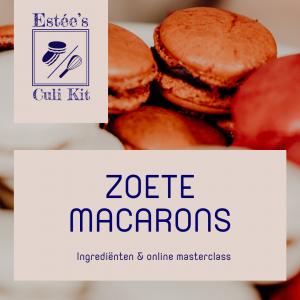 Zoete macarons