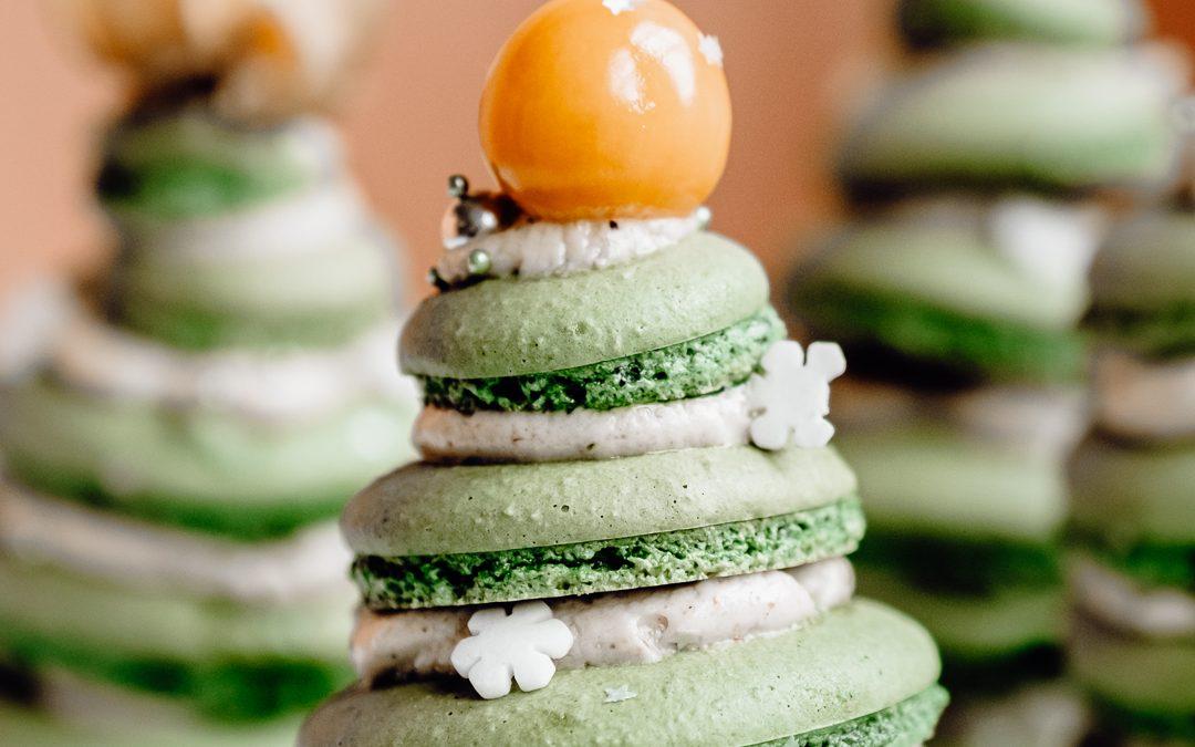 Verras je gasten deze kerst met zelfgebakken macarons!